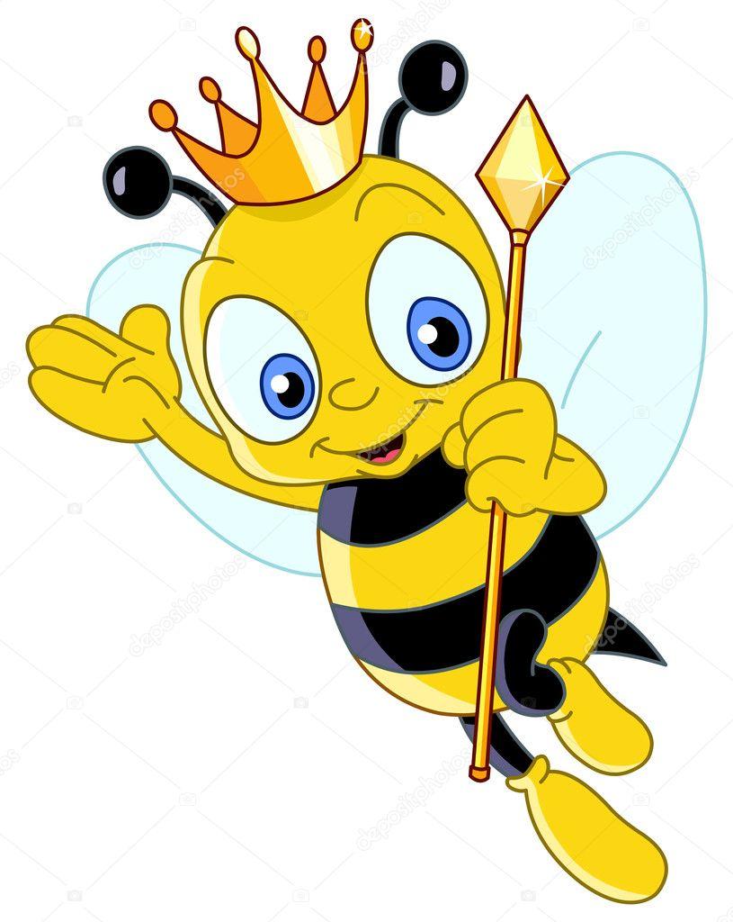 queen bee stock vector yayayoyo 5829537 rh depositphotos com bee vectoring technology inc bee vector graphic