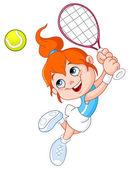 tenis holka