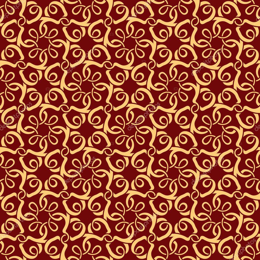 Röd sömlös tapet mönster — Stock Vektor © Zybr78 #5475204