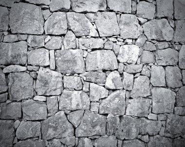 Dark stone wall texture