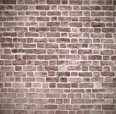 Closeup of brick wall