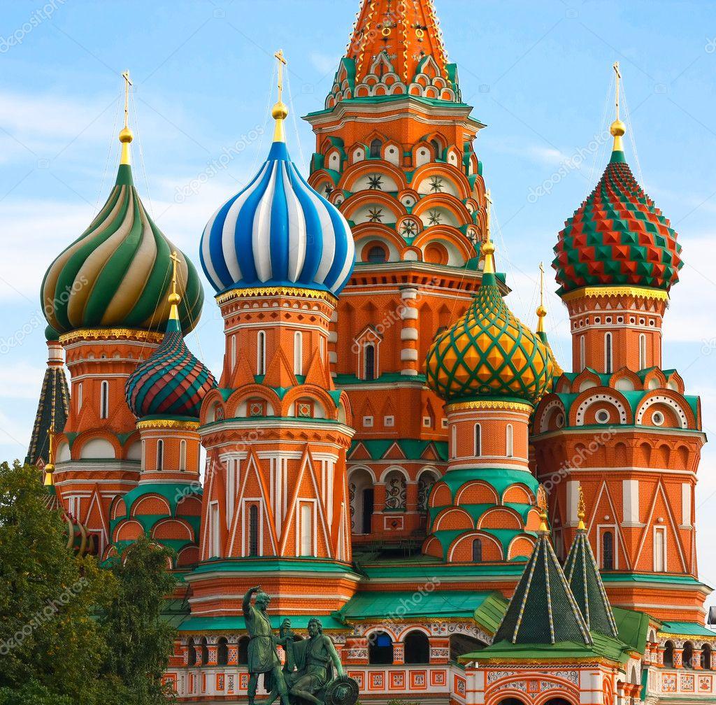 Moscow, Russia, Saint Basil\u0027s cathedral \u2014 Stock Photo © Vladitto ...