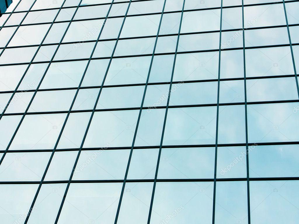 Glasfassade textur  rutschig textur von glas-hochhaus — Stockfoto © Vladitto #6711983
