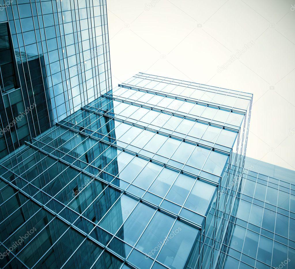 Glasfassade textur  textur von glas-hochhaus — Stockfoto #6713380