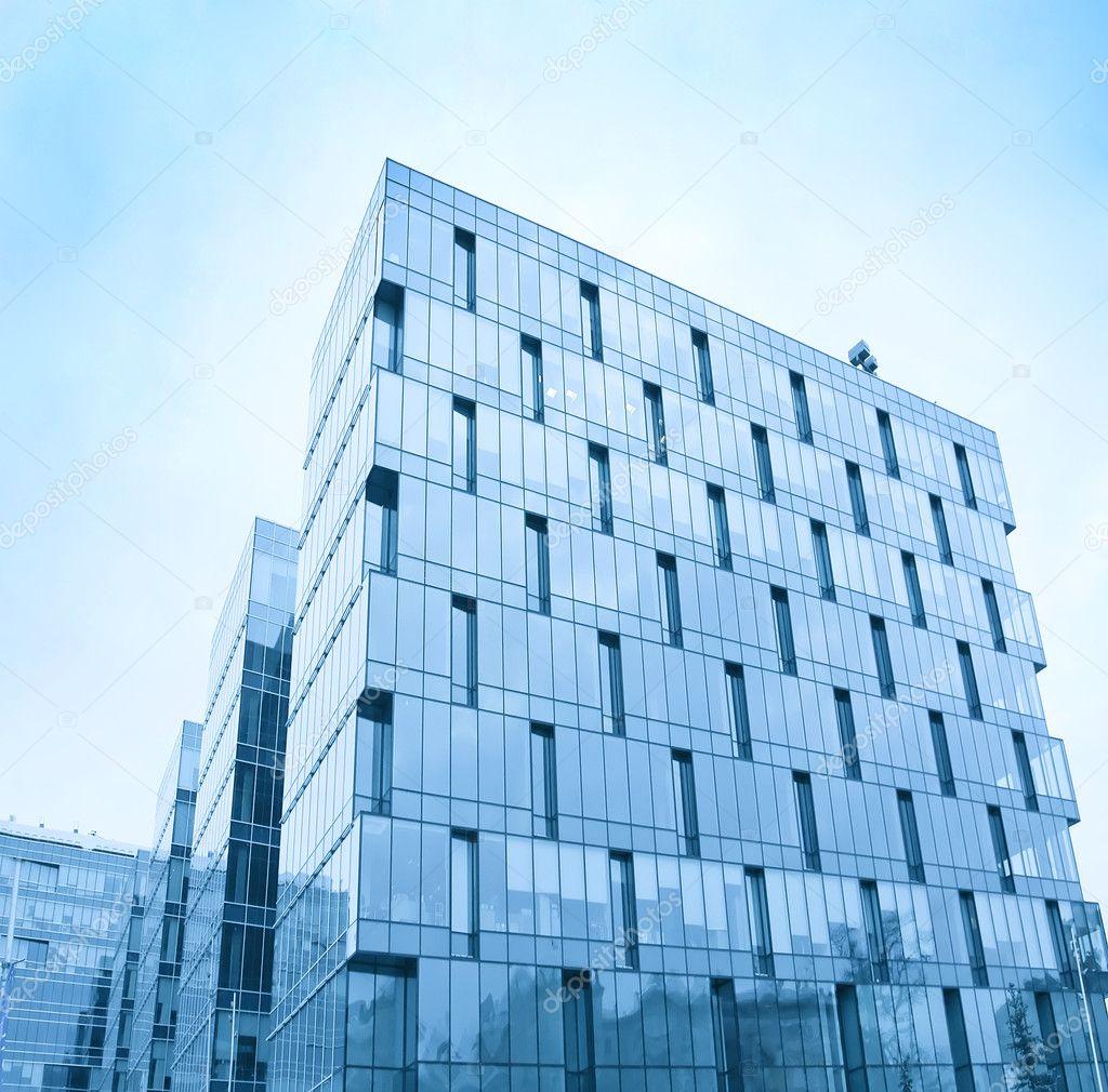 Glasfassade textur  textur von glas-hochhaus — Stockfoto #6713479