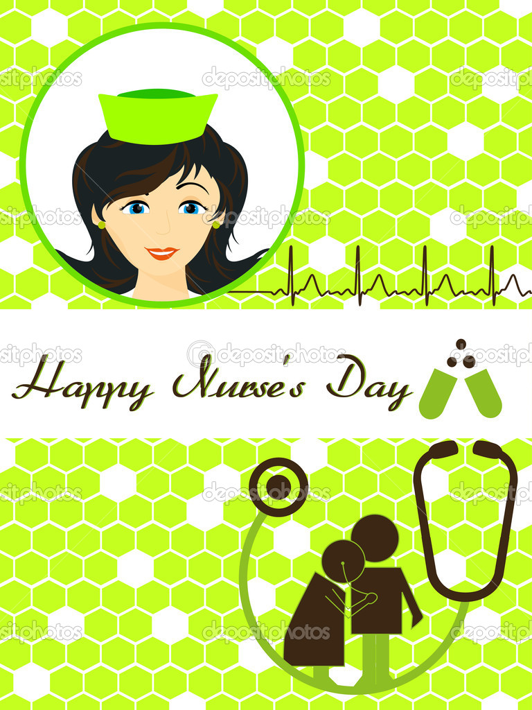 Vector happy nurses day greeting card stock vector beautiful happy nurses day greeting card vector illustration vector by alliesinteract m4hsunfo Image collections