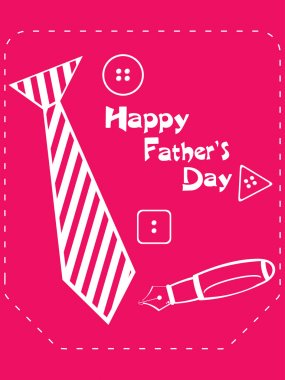 vector background for happy father's day celebration