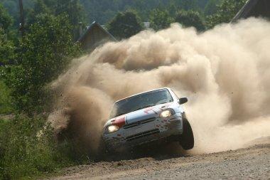 Rally Car Crash