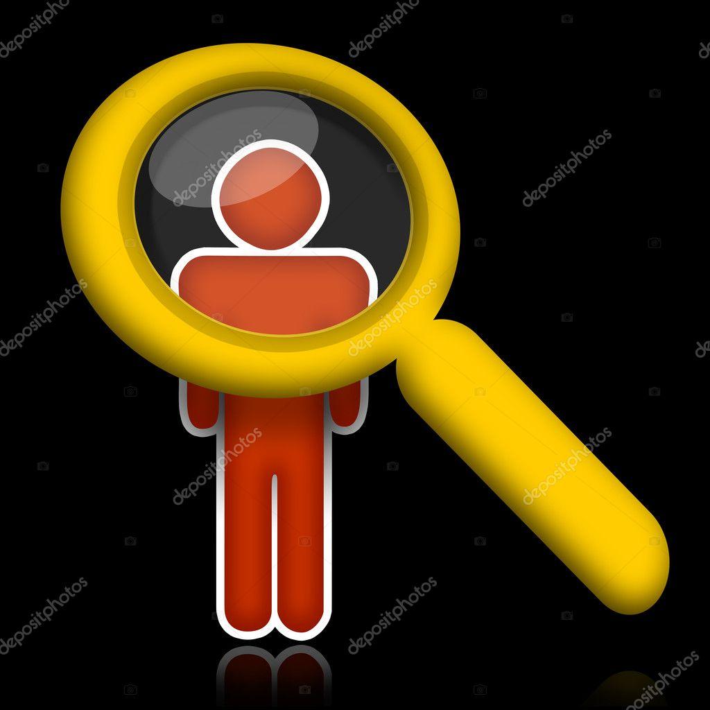 researching person stock photo skovoroda 5392172