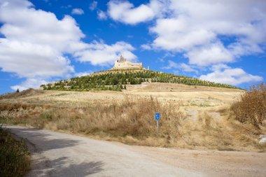 View of Castrojeriz, Spain