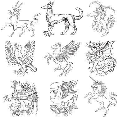 Heraldic monsters vol IV