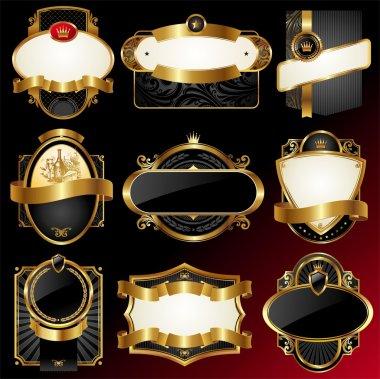 Luxury framed labels