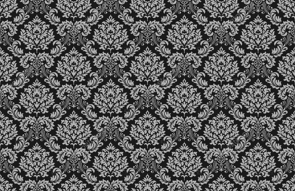 d cor de papier peint baroque image vectorielle. Black Bedroom Furniture Sets. Home Design Ideas