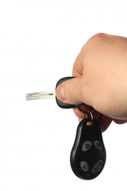 Keys from the car with signalling