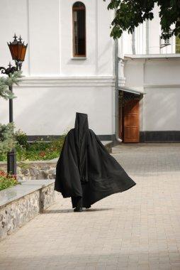 The running monk