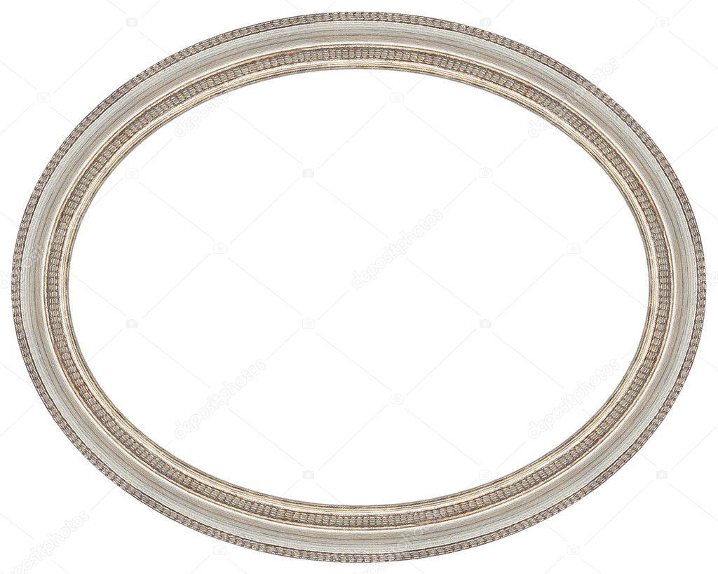 Oval frame