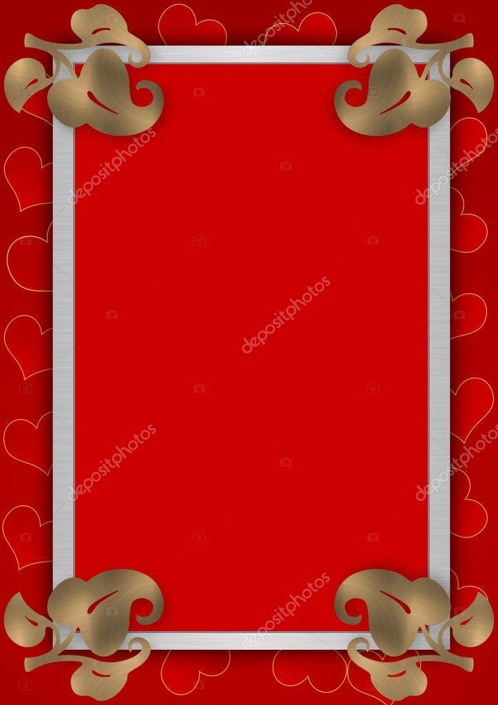 Liebe Rahmen — Stockfoto © galdzer #6194836