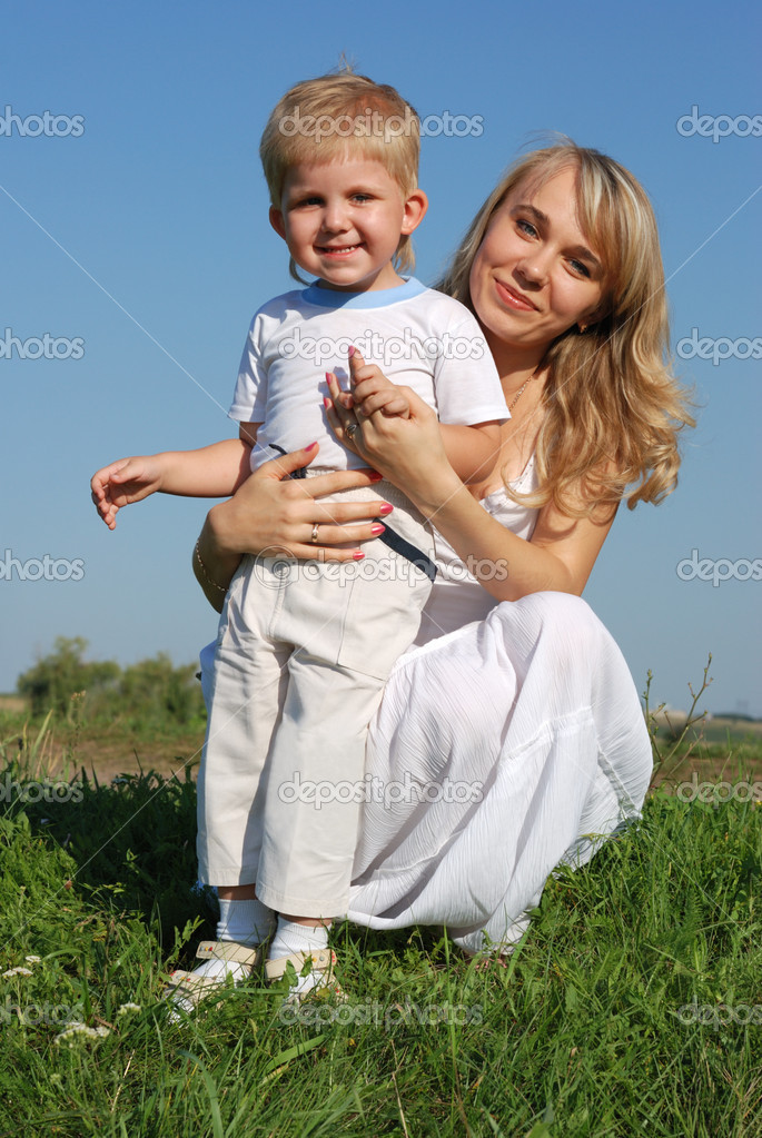 Resultado de imagen para madre e hijos rubios