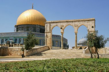 Dome on the Rock mosque.