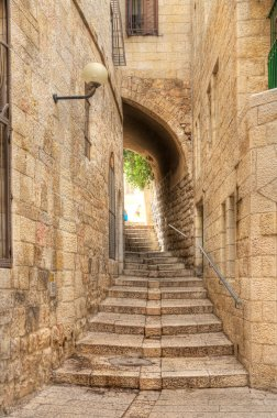 Old street of Jerusalem.