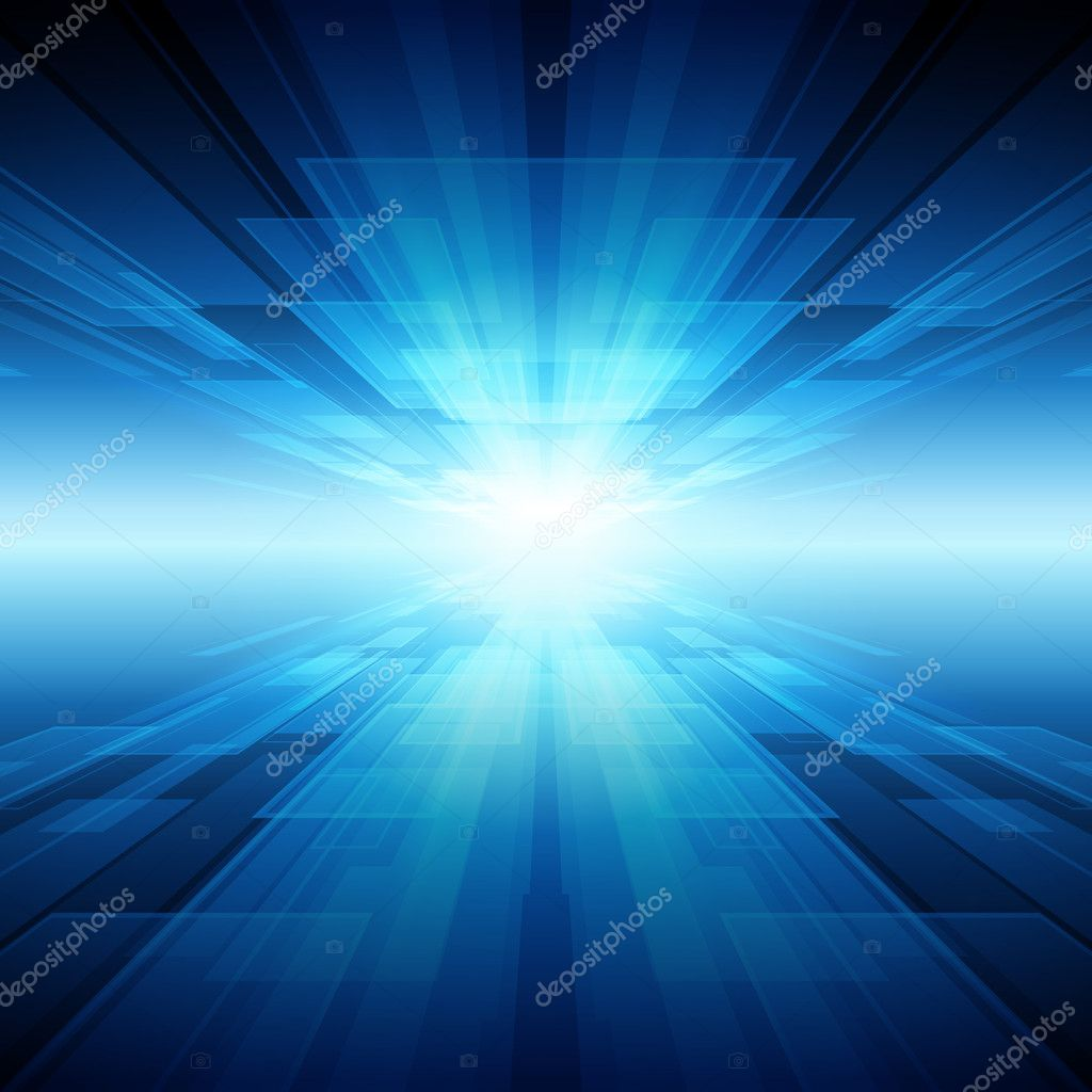Virtual tecnology space vector background