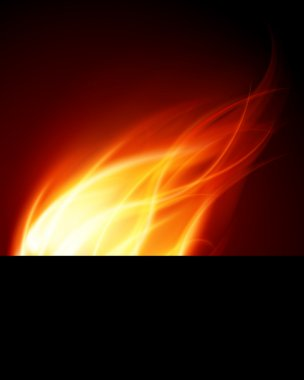 Burn flame fire