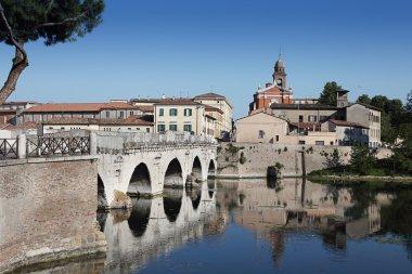 Tiberius' Bridge. Rimini, Italy