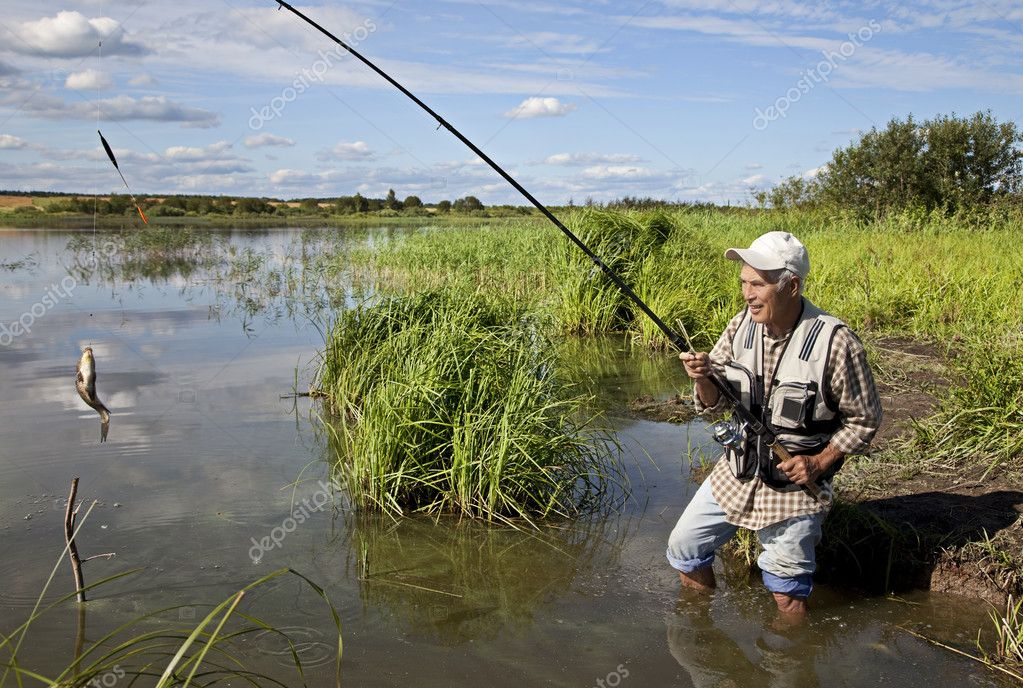 как ловить рыбу на круглом озере