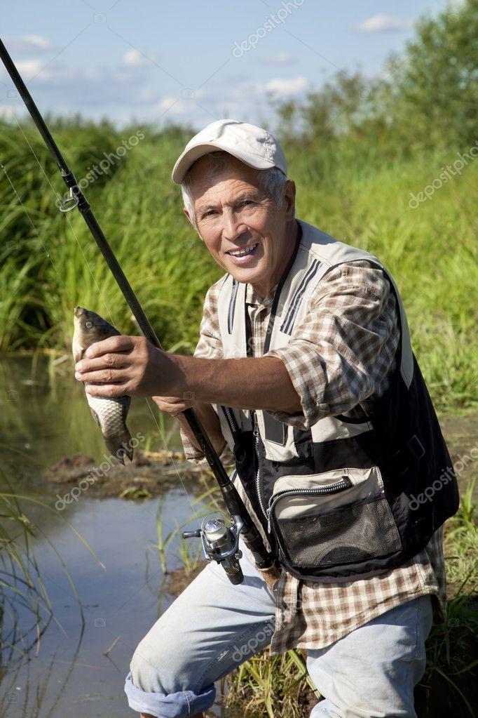 приколы рыбак с удочкой