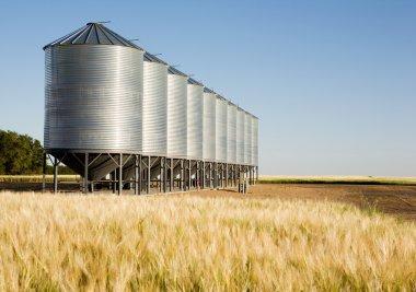 Metal Grain Bin