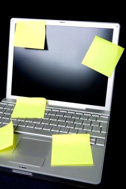 Sticky Note on Computer