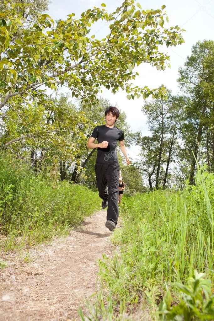 Health conscious jogging