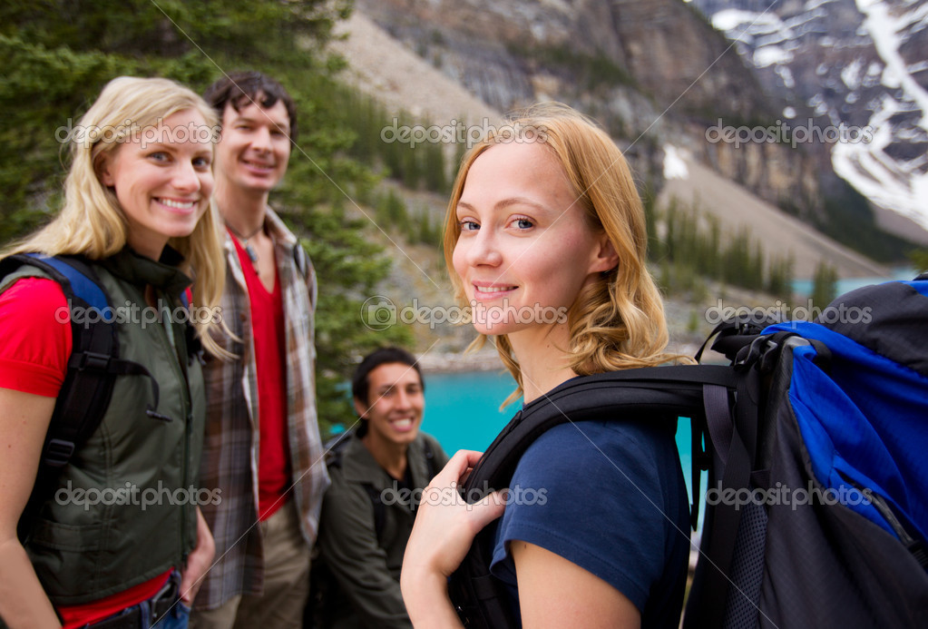 Hiking Friends Outdoor