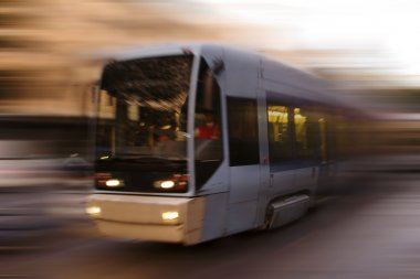 Abstract Tram