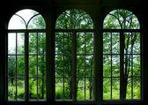 Zahradní okno