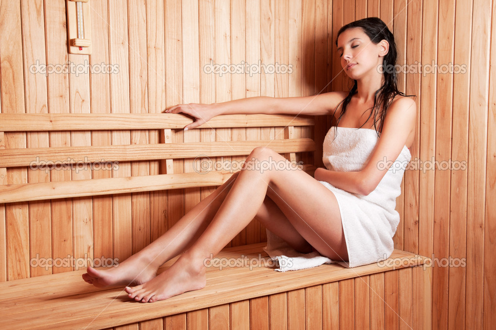 young-girl-in-sauna