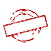 Fotografia Stamp_2 di gomma del grunge