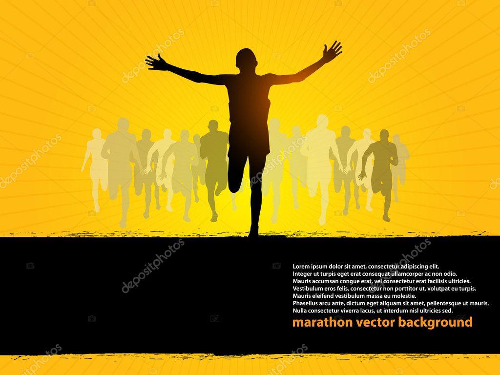 Running - Finishing line