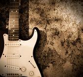 Fotografie Grunge-Gitarre