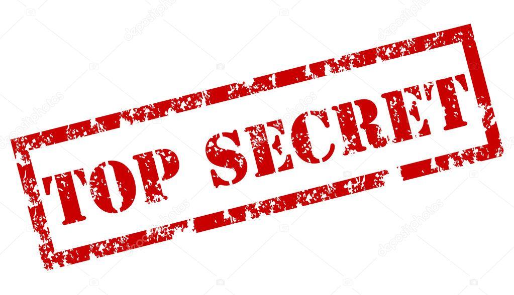 top secret rubber stamp stock vector burakowski 6429010. Black Bedroom Furniture Sets. Home Design Ideas