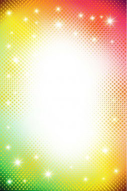 Colorful dots abstract background