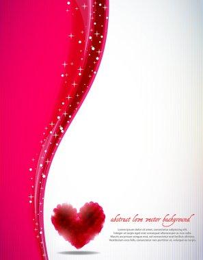 St. Valentine's vector background