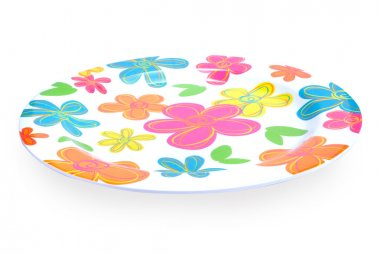 Colorful plate