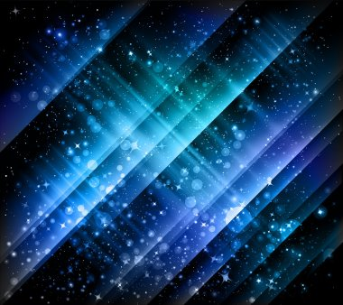 Abstract blue backgrounds - vector