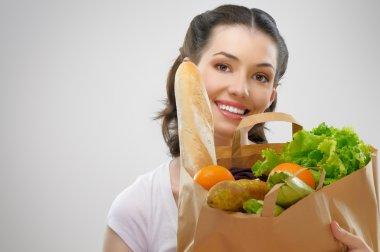 Bag of food