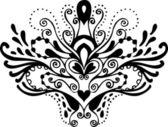 Photo Black and white tattoo pattern
