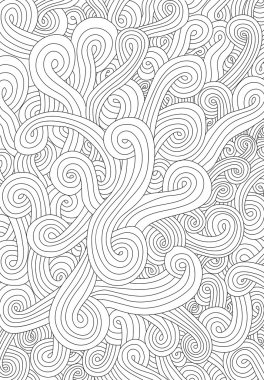 Abstract seamless pattern waves