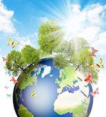 Fényképek zöld föld