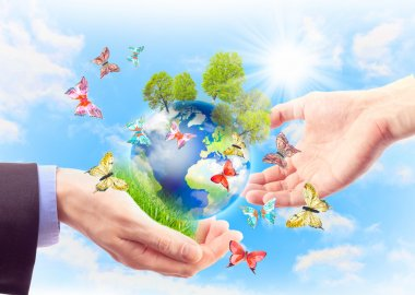 Concept of heritage earth for future generations