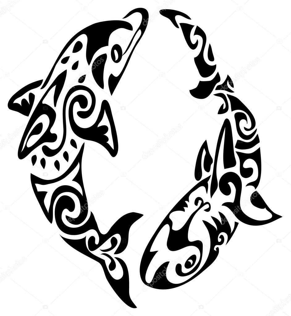 Tattoo Stock Photos: Stock Vector © Марианна #6664080